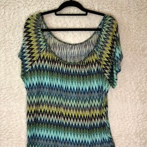 Ana Multicolor shirt size 1x
